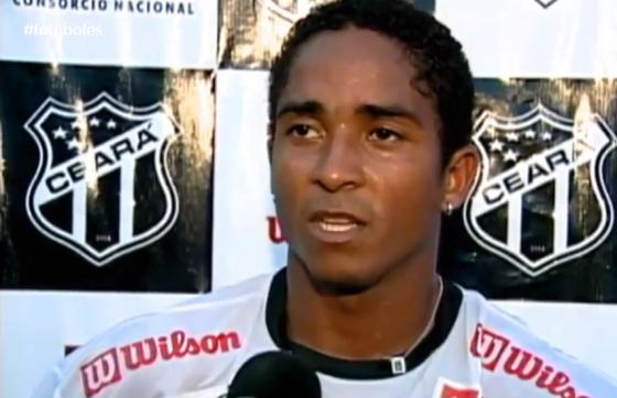 Jorge Henrique atuou pelo Vovô em 2006 (FOTO: TV Jangadeiro)