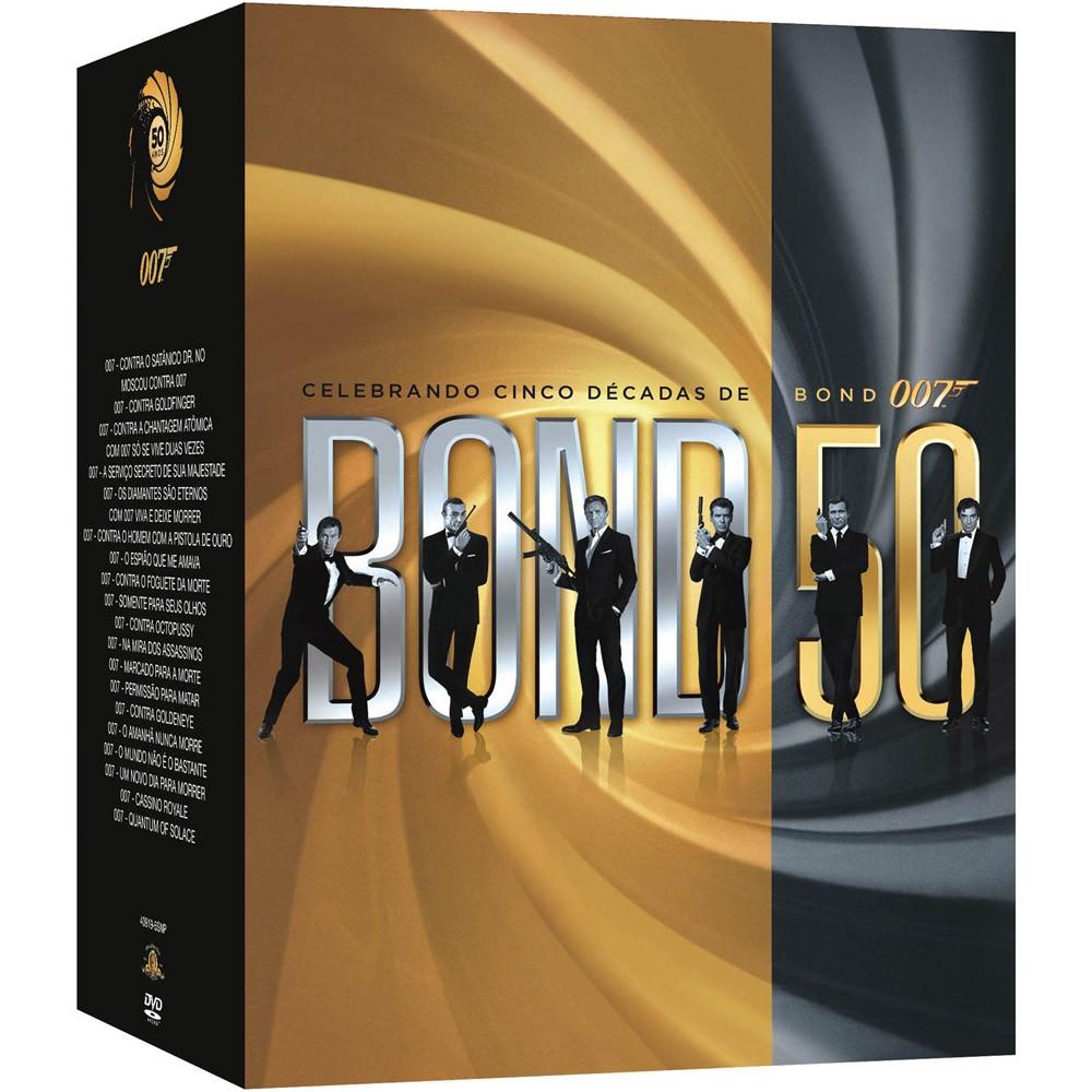 50 Anos De James Bond Oscar Lancamento De Colecao E Bilheteria
