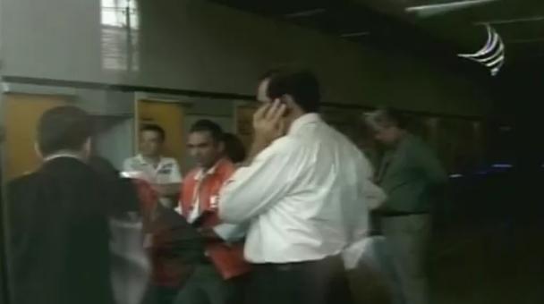 Funcionários de agência bancária sentem tremor durante expediente