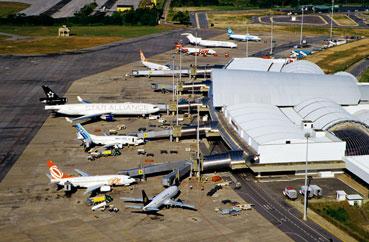 Obras no aeroporto de Fortaleza