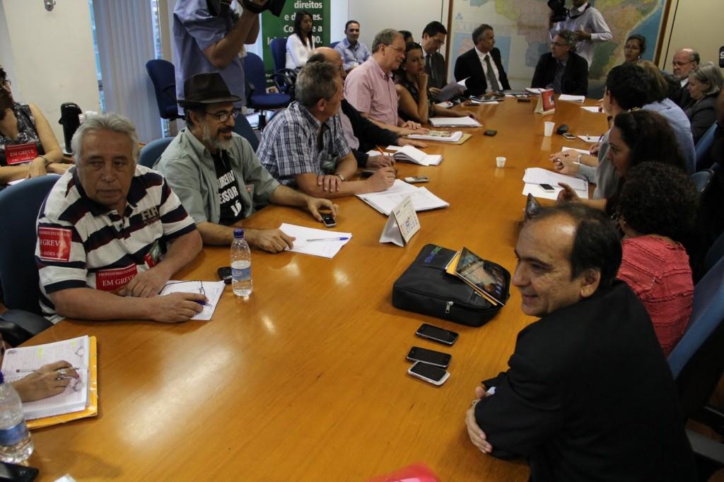 reunião professores universidades federais
