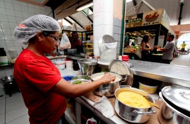 O Polo Gastronômico do Mercado São Sebastião, no Centro de Fortaleza, será lançado na tarde desta quinta-feira (27), a partir das 13h30