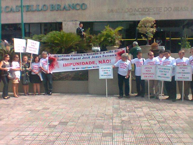 Protesto de auditores fiscais