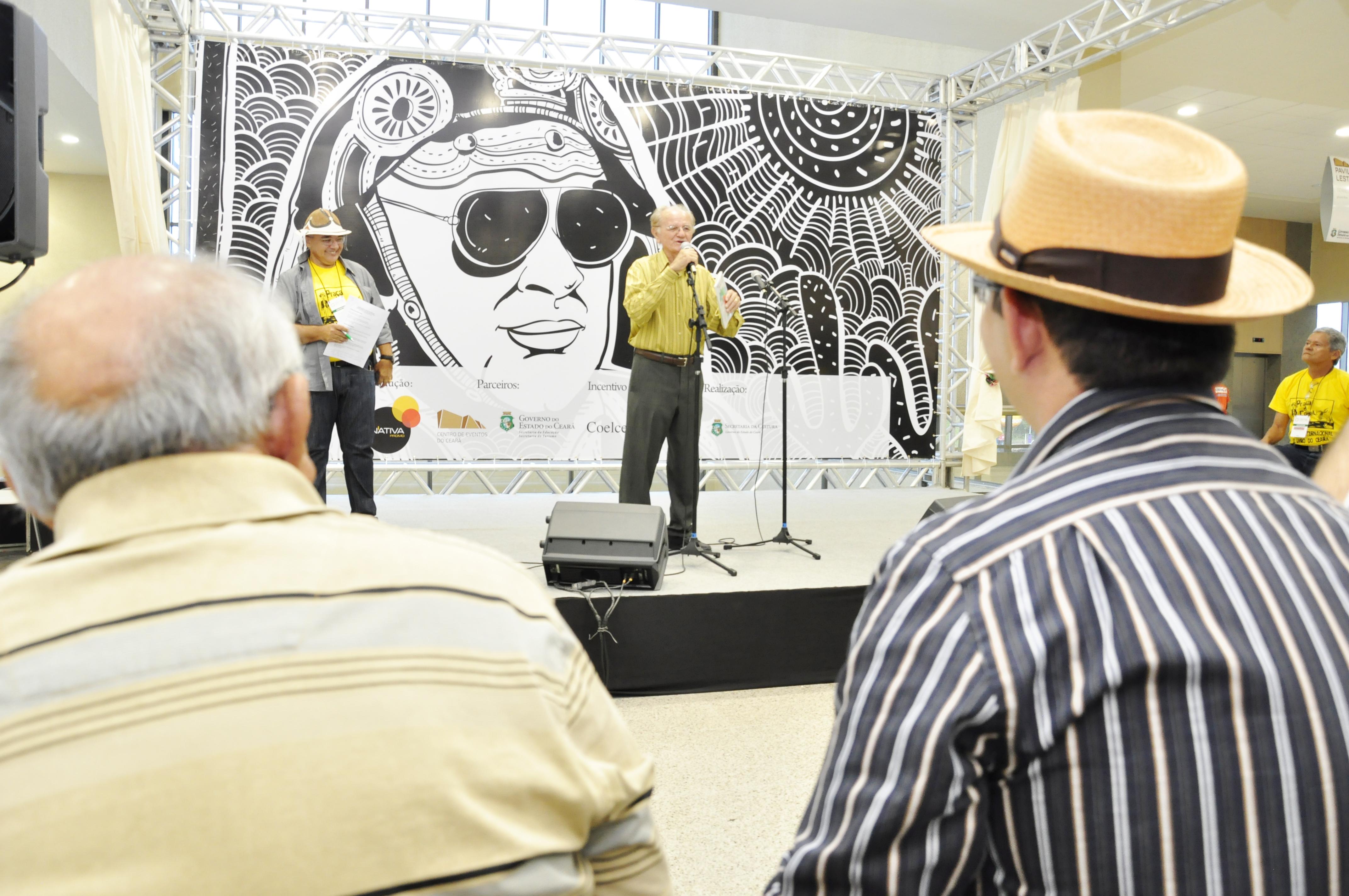 Espaço Cordel na Bienal do Livro no Ceará