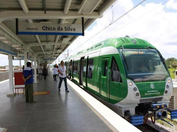 Os trens unidade-elétrica (TUEs) da Linha Sul e o Metrô do Cariri seguem sem circulação até domingo (13), em razão da manutenção preventiva, de acordo com o Metrofor