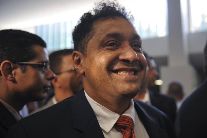 O humorista se diz feliz, mas não vai tentar nova candidatura em 2014 (Antonio Cruz/ABr)