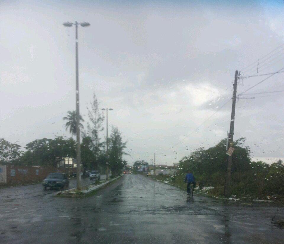 Choveu em mais de 90 municípios do Ceará até a manhã desta segunda-feira (18), segundo balanço divulgado pela Fundação Cearense de Meteorologia e Recursos Hídricos (Funceme)