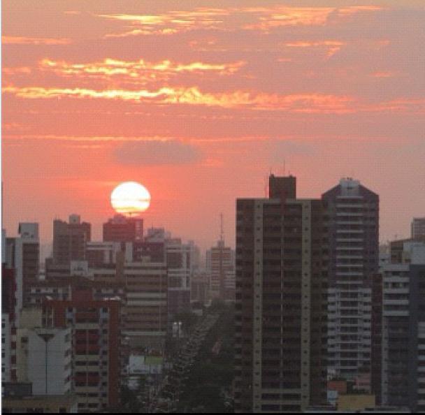 Pô-do-sol no Cocó, por Emerson Damasceno