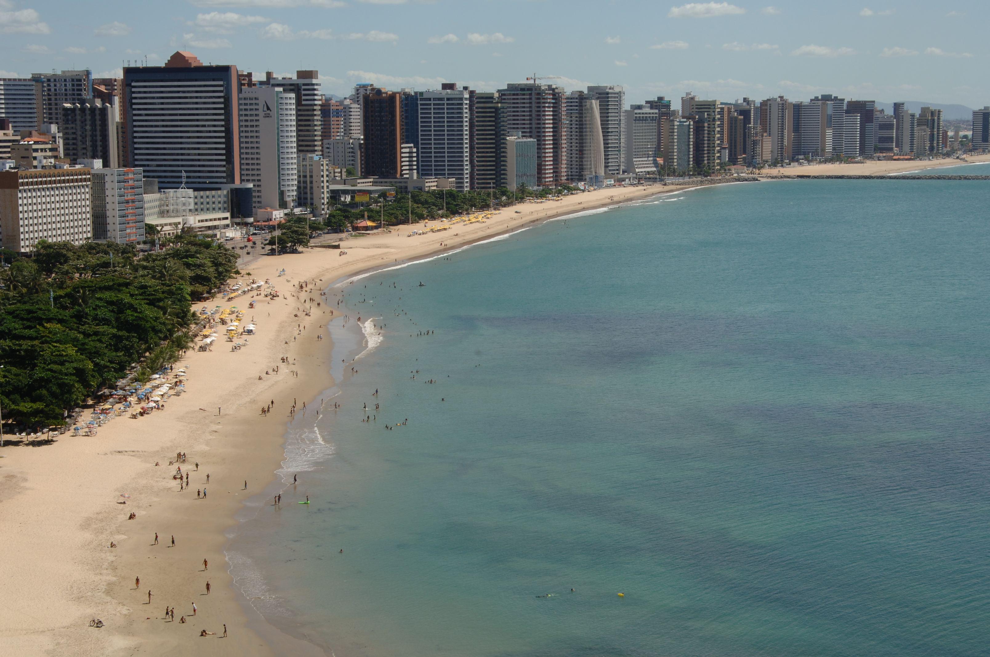 Um dos principais pontos turísticos de Fortaleza, a Beira-Mar tem altos índices de assaltos