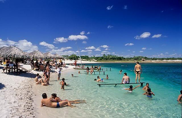 10 praias mais visitadas do Ceará