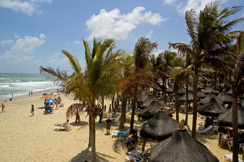 Mesmo sabendo que Fortaleza é uma opção praiana bastante conhecida, grande eventos ajudam a divulgar, ainda mais, a cidade para outros continentes