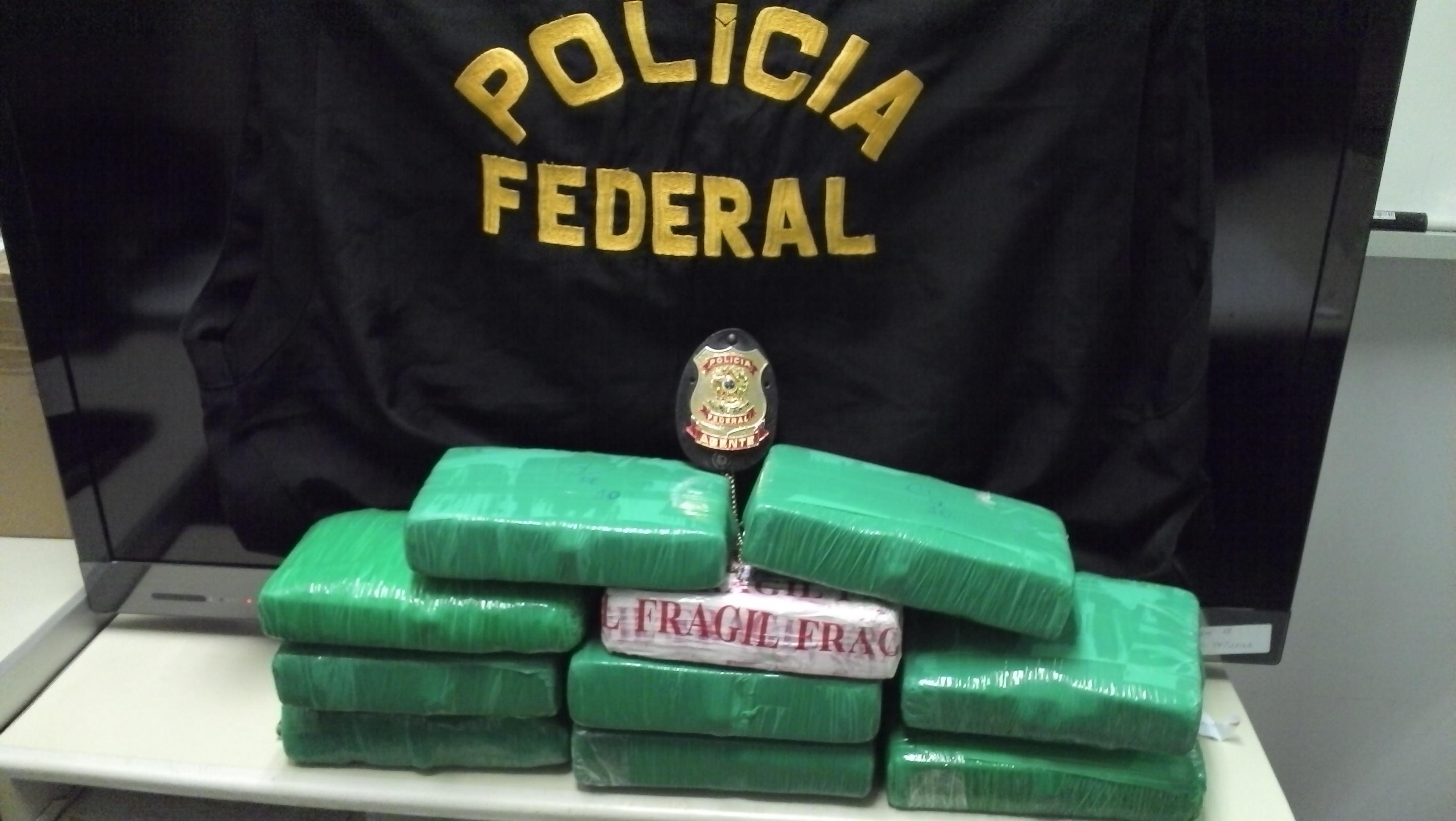 O preso responderá por tráfico interestadual de drogas (FOTO: Divulgação/PF))
