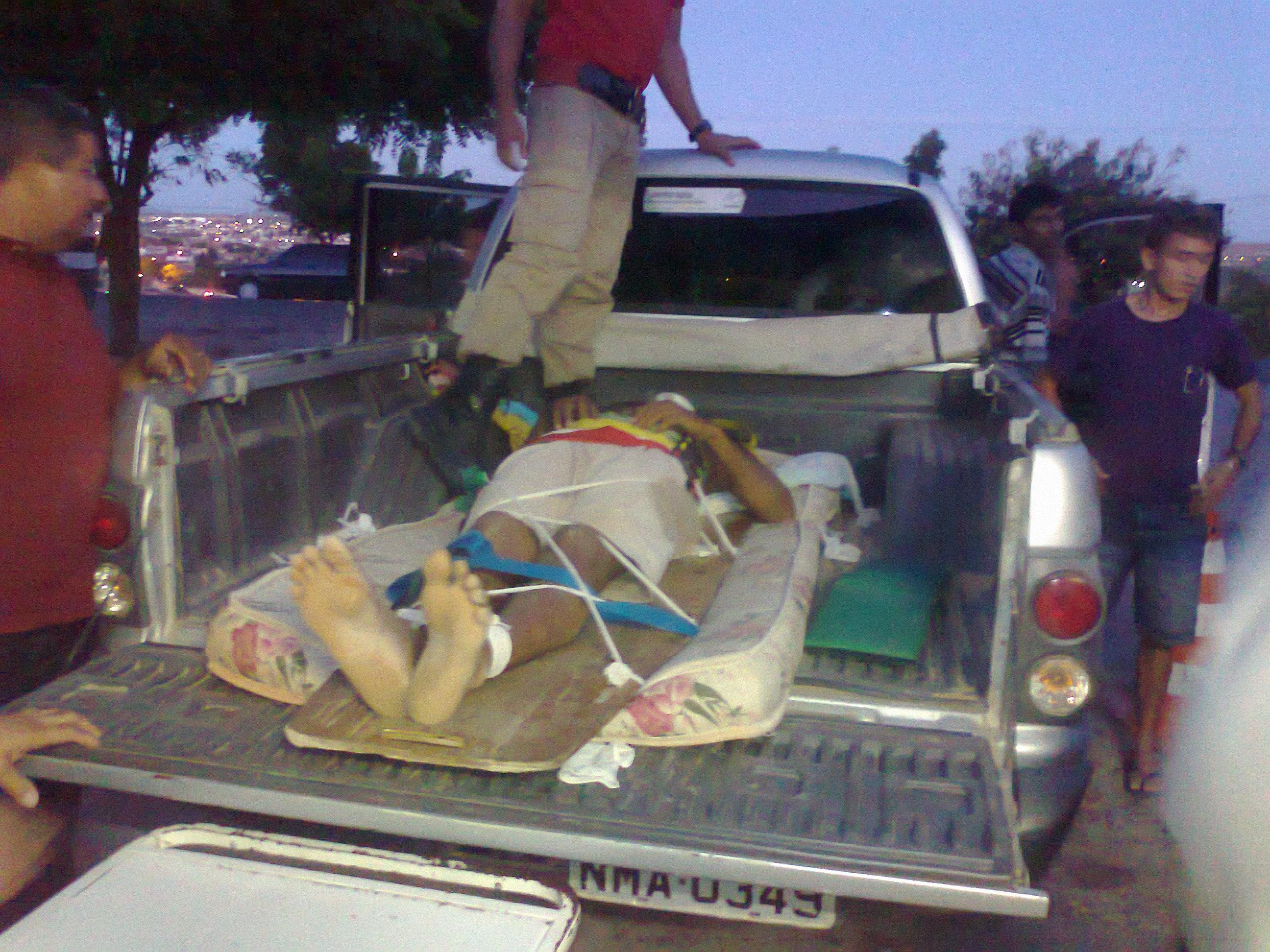 Corpo de Bombeiros dá apoio no atendimento por falta de ambulâncias