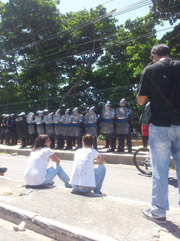 Guarda Municipal faz a segurança do Parque do Cocó (FOTO: Maira Suspiro)