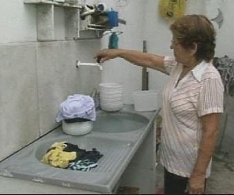 Moradores de 30 bairros de Fortaleza ficarão sem água (FOTO: Reprodução/TV Jangadeiro)