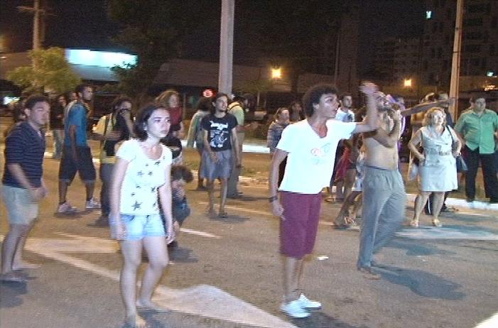 retirada manifestantes 4