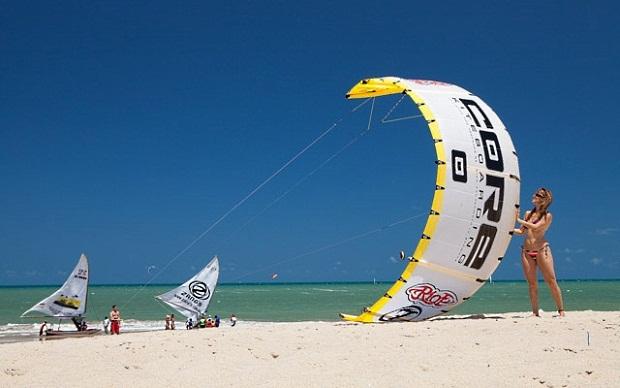 Kitesurfe - pipa
