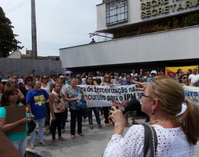 Direção do sindicato esteve reunida com secretário de Planejamento (FOTO: Divulgação)