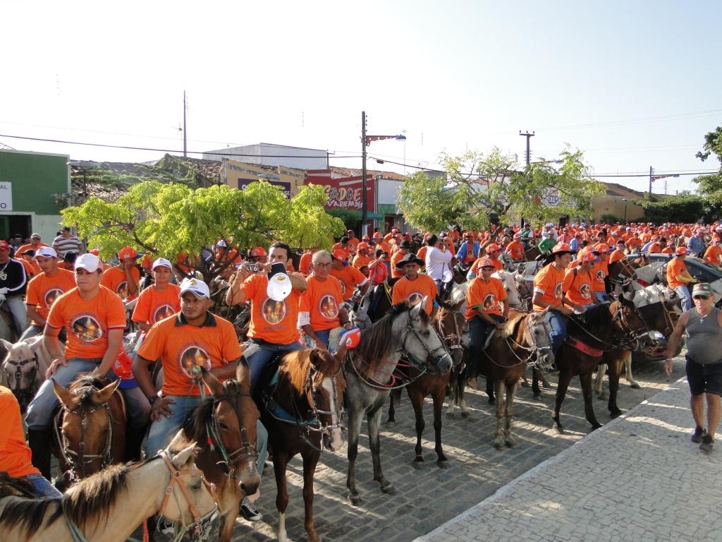 15ª Tradicional Cavalgada de Nossa Senhora da Soledade acontece nesta sexta-feira em São Gonçalo (FOTO: Divulgação)