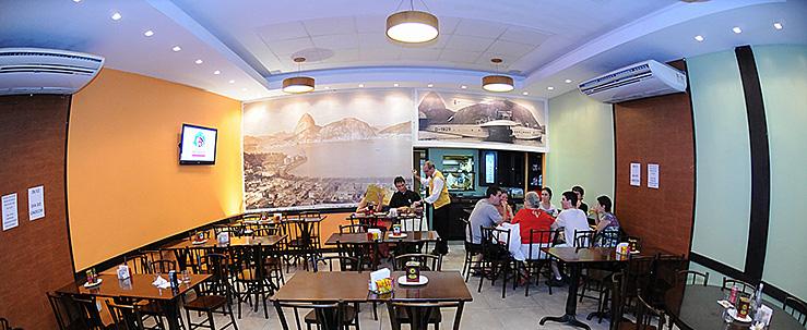 O cearense abriu um rede de pizzarias no Rio de Janeiro.