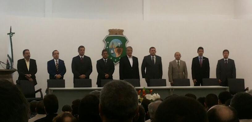Servilho Paiva tomou posse da SSPDS nesta quinta-feira (12)