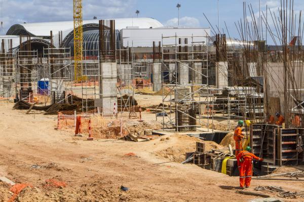 Obras de reforma e ampliação do Aeroporto de Fortaleza