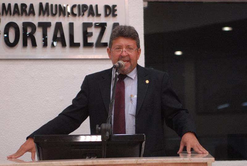 Vereador Joaquim Rocha (PV) é o propositor da matéria (Foto: Genilson de Lima)