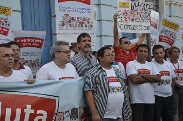 Nesta quarta-feira (18) os bancários se reuniram novamente para traçar as ações do movimento que se inicia (FOTO: Divulgação/Seeb)