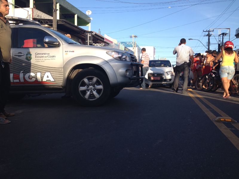 Taxista não suportou os ferimentos e morreu na hora
