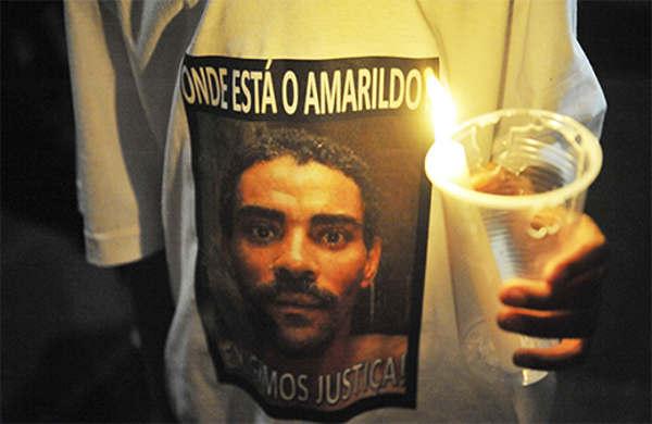 Amarildo desapareceu na favela em 14 de julho passado, depois de ser detido por PMs da Unidade de Polícia Pacificadora (UPP) local. O sumiço virou palavra de ordem em passeatas ocorridas em todo o País (FOTO: Divulgação/ABr)