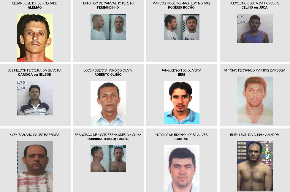 5be0f038a SSPDS atualiza lista dos homens mais procurados do Ceará