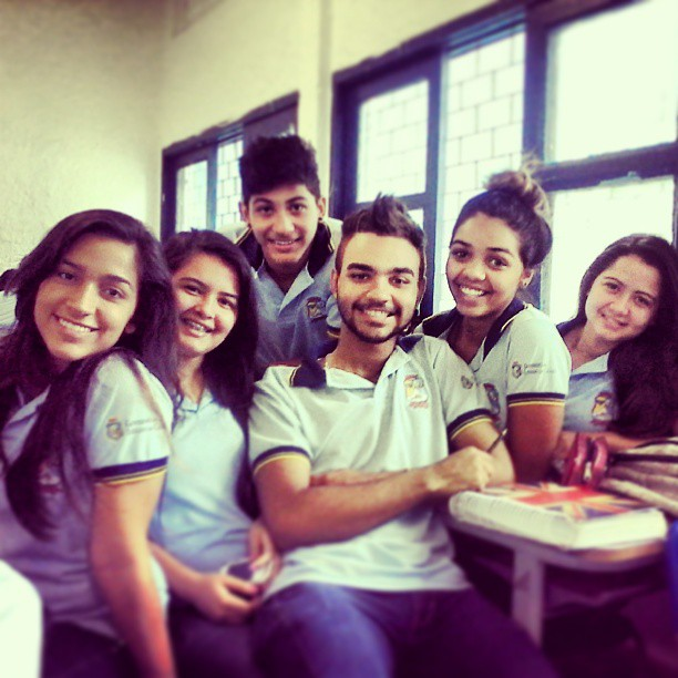 Escola Municipal de Fortaleza incentiva participação de alunos do 2º ano no Enem (FOTO: João Victor/Arquivo Pessoal)