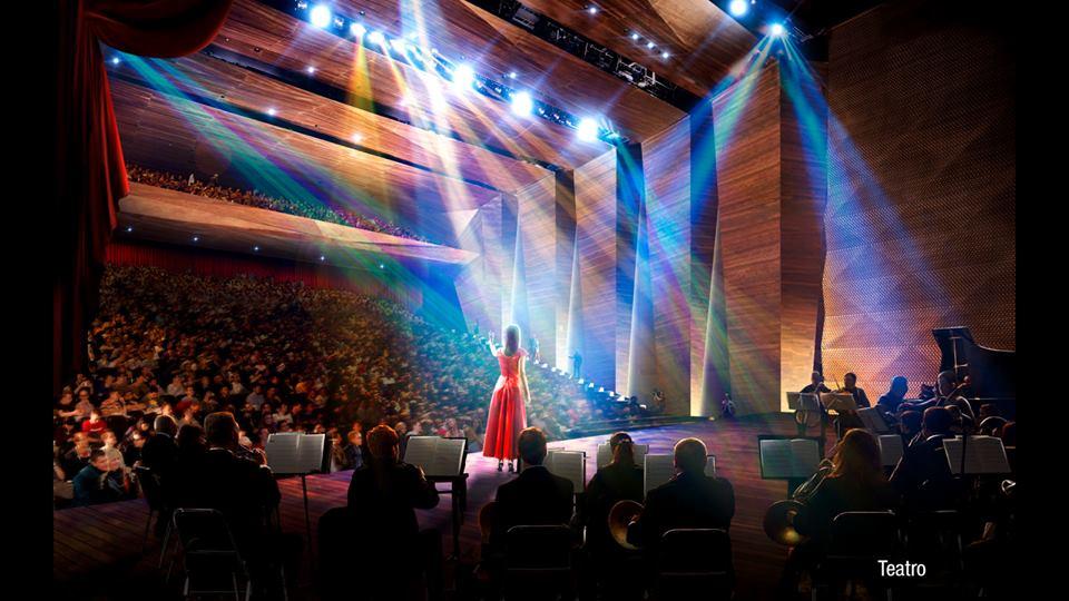Será um teatro e dois auditórios (FOTO: Divulgação)