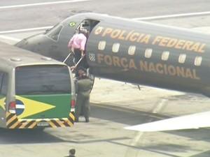 Genoino sentiu-se mal durante o translado de São Paulo até a capital federal, relatando palpitações e fortes dores no peito (FOTO: Reprodução)