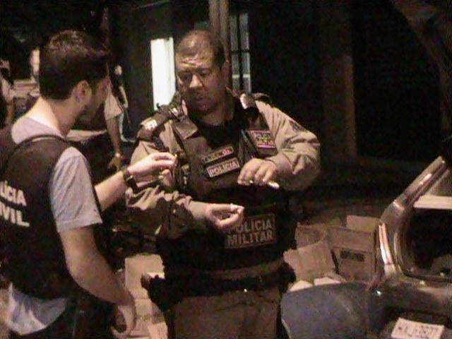 Ação ao banco de Itarema resultou em quatro mortes (FOTO: Benedito de Paulo)