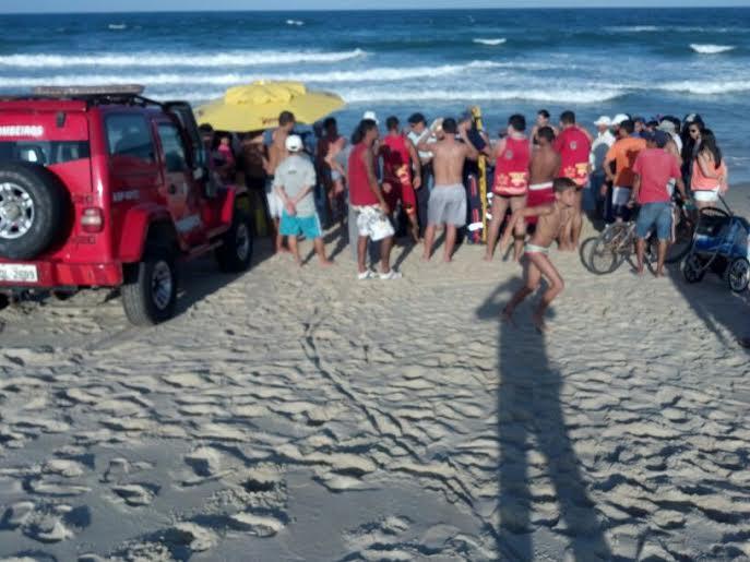 Ele tinha 37 anos, era de Manaus e passava as férias em Fortaleza (FOTO: Julio César)