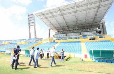 Delegação alemã visita instalações da Copa do Mundo em Fortaleza (FOTO: Marcos Moura/ Prefeitura de Fortaleza)