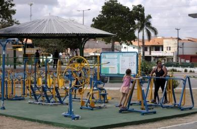 Prefeitura implementa 11 academias para a terceira idade (FOTO: Igor de Mello/Prefeitura de Fortaleza)