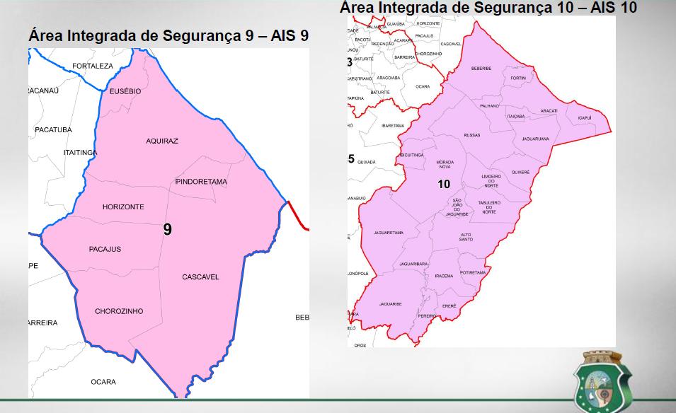 AIS na Região Metropolitana e Interior