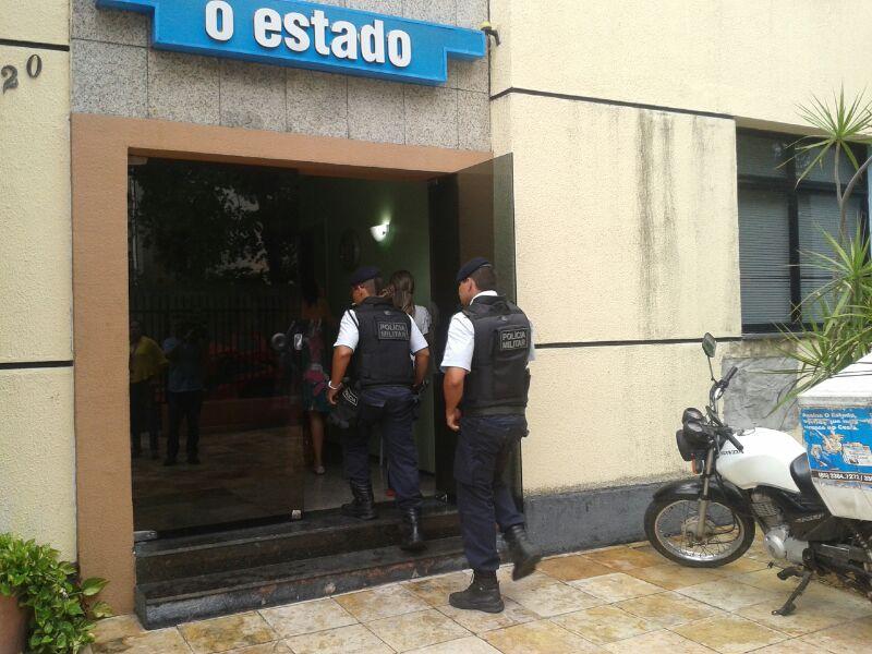 Há uma suspeita de que os assaltantes tiveram acesso a informações privilegiadas sobre a empresa (FOTO: Cristiano Pantanal)