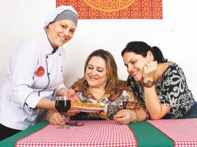 Apoio da família foi essencial para o sucesso do restaurante (FOTO: Arquivo Pessoal)