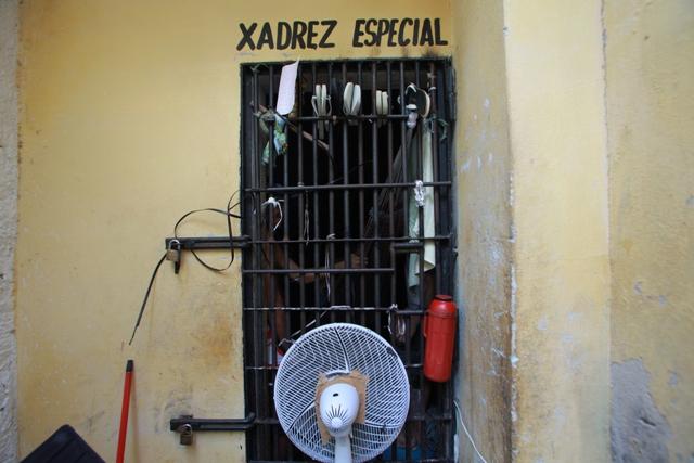 Delegacia foi denunciada por superlotação (FOTO: Divulgação)