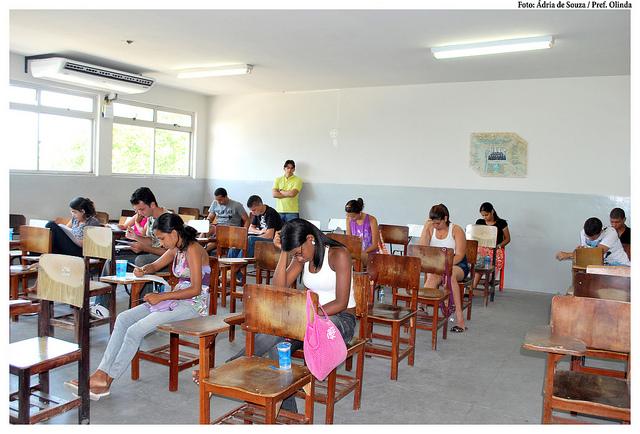 5,1 milhões de estudantes fizeram o ENEM em 2013. (FOTO: Flickr/ Creative Commons/ Ádria de Souza)