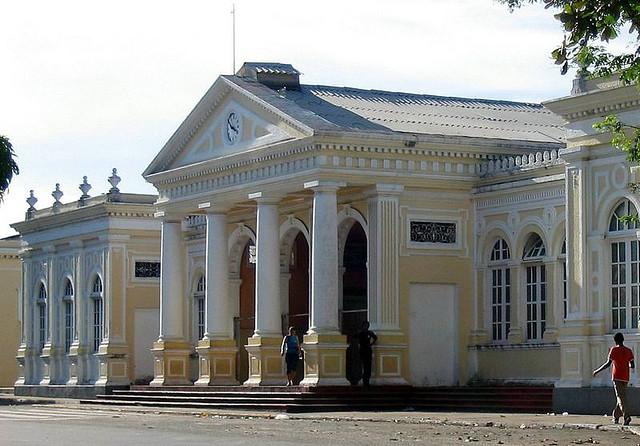 Tombada pelo decreto 16.237 de 1983, a estação João Felipe começou a ser construída em fins do século XIX, na época do imperador Dom Pedro II (FOTO: Marcelo Dutra)