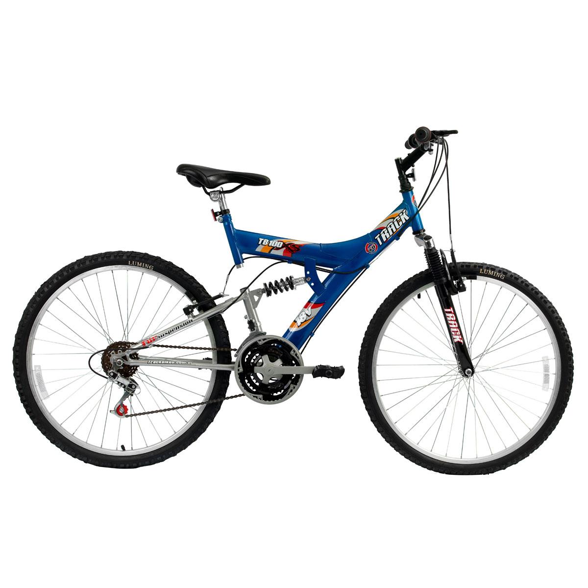 Track Bikes TB 100 Dupla Suspensão 18 V - Aro 26
