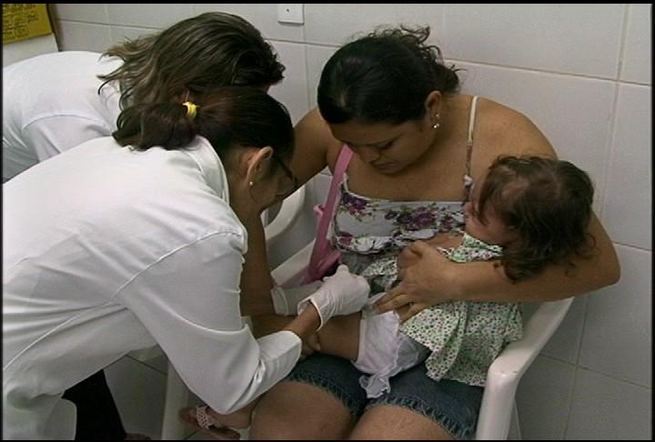 Grupo entre 6 meses e 1 de vida está completamente desprotegido (FOTO: Reprodução/TV Jangadeiro)