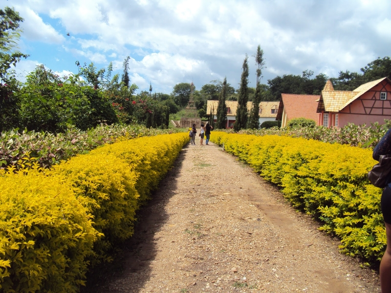 Jardim é um dos espaços de maior beleza e sutileza