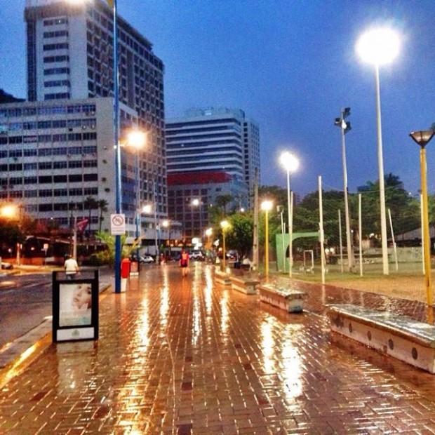 Dia de São José começou com chuvas (FOTO: @zerosa/Instragram)
