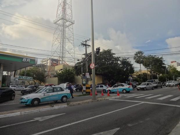 Bloqueio de ruas precisa ser autorizado pela AMC (FOTO: Thalyta Martins)