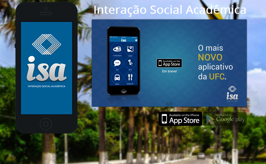 Alunos da UFC criaram o aplicativo Interação Social Acadêmica (ISA) que facilita a localização no campus do Pici (FOTO: Divulgação)